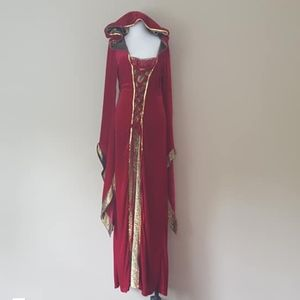 XL  Dreamgirls Costume Lady Of The Thrones Red
